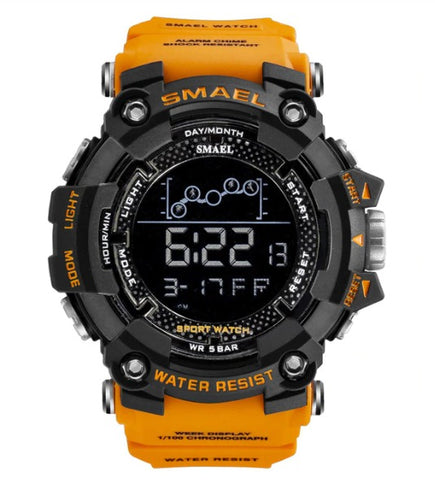 Smael Digital Analog Watch Model 1802 - Orange