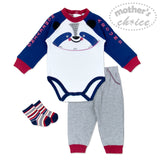 BOYS 3PC SET - MONKEYING AROUND