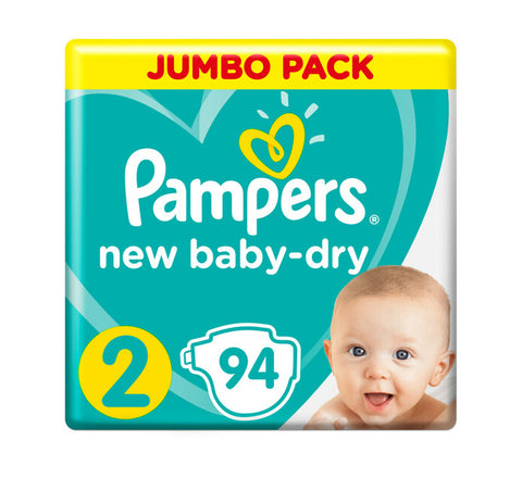 Pampers New Baby Dry Jumbo Pack Size 2