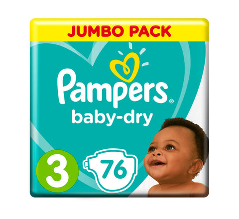 Pampers New Baby Dry Jumbo Pack Size 3