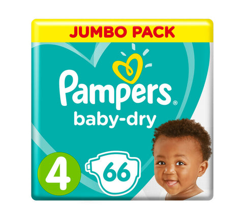 Pampers New Baby Dry Jumbo Pack Size 4
