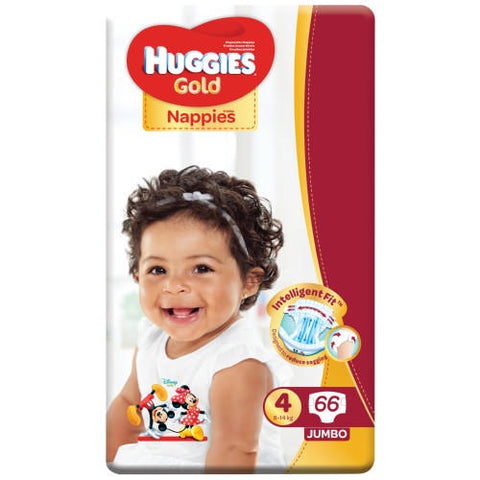 Huggies Gold Jumbo Pack Size 4