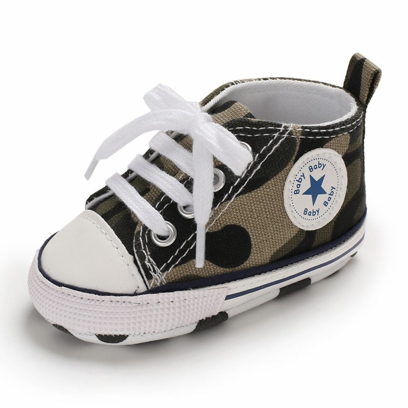 Infants Anti-slip Canvas Sneaker - Camouflage
