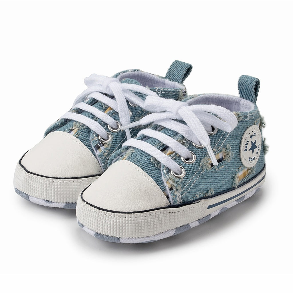 Infants Anti-slip Canvas Sneaker - Denim