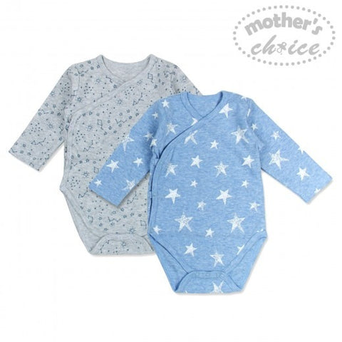 2 PACK BODYSUITS - STAR