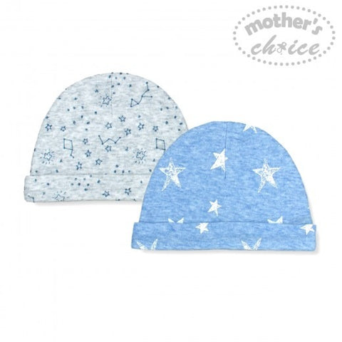 2 PACK BEANIE SETS - STAR