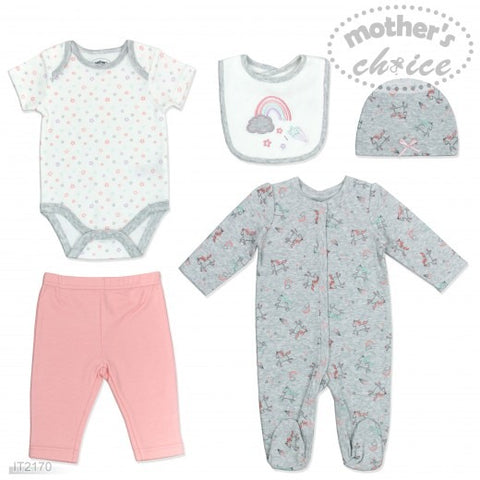 5PC STARTER PACK GIRLS 'RAINBOW'
