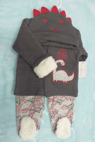 3PC QUILTED WINTER SET - IM AROARABLE