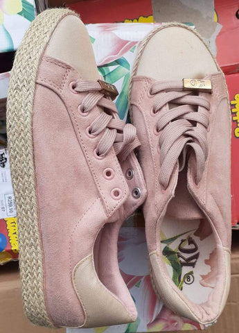 KG Knot Sneakers - Ladies Takkies - Dirty Pink