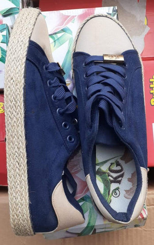KG Knot Sneakers - Ladies Takkies - Navy