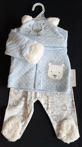 3PC QUILTED WINTER SET - LION