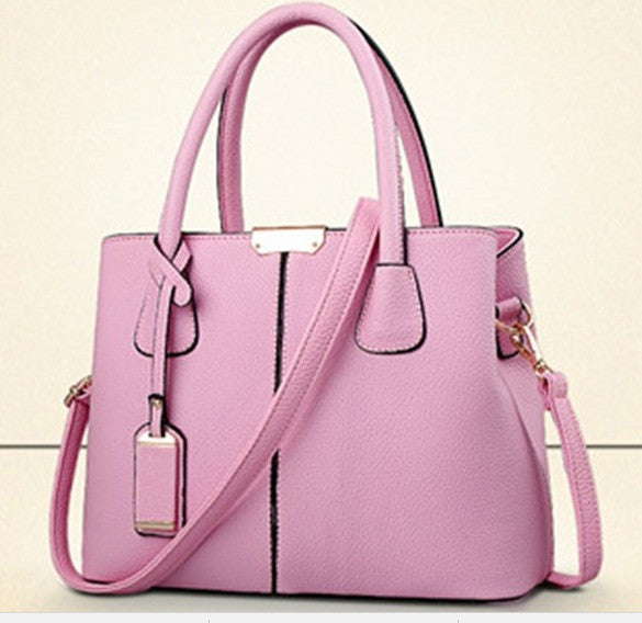 Ladies Tote Hand Bag - Light Pink