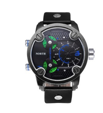 Men's Military 3 Zone Watch - Blue