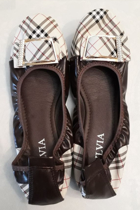 Ladies Pumps - Burberry Brown