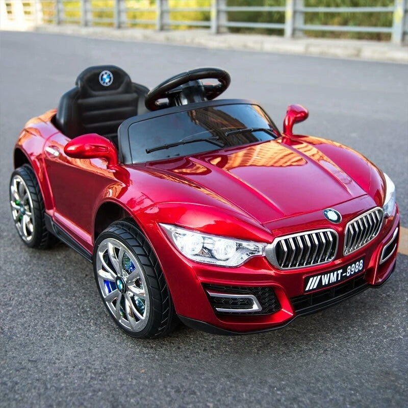 Kiddies 12V Ride ON Battery Powered BMW -  Maroon