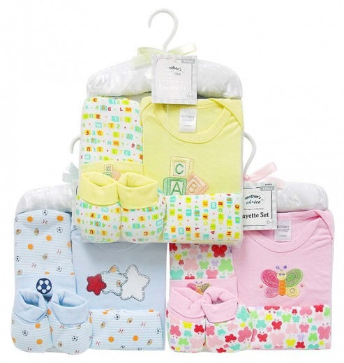 Babies 5pc Layette Set (0-6 months)