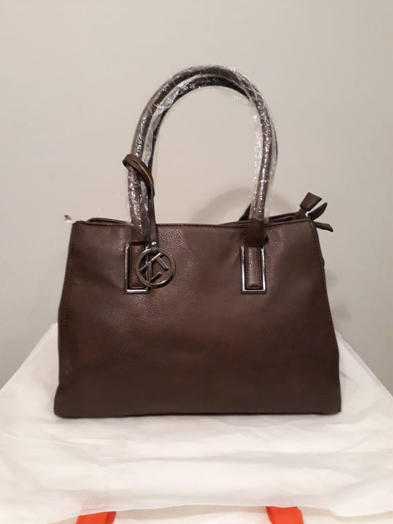 Ladies Hobo Tote Hand Bag - coffee