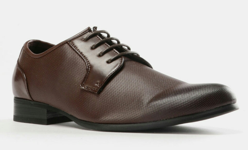 Classic Formal Lace Up Shoes - Brown
