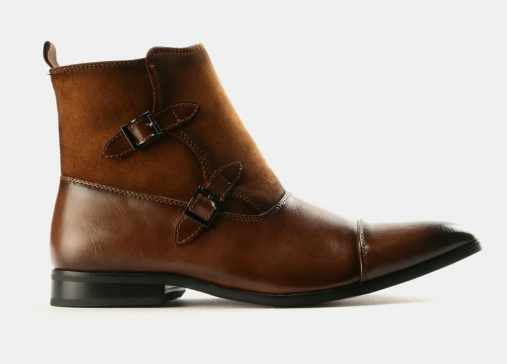 Mazerata Grazie 36 Formal Boots - Tan Brown