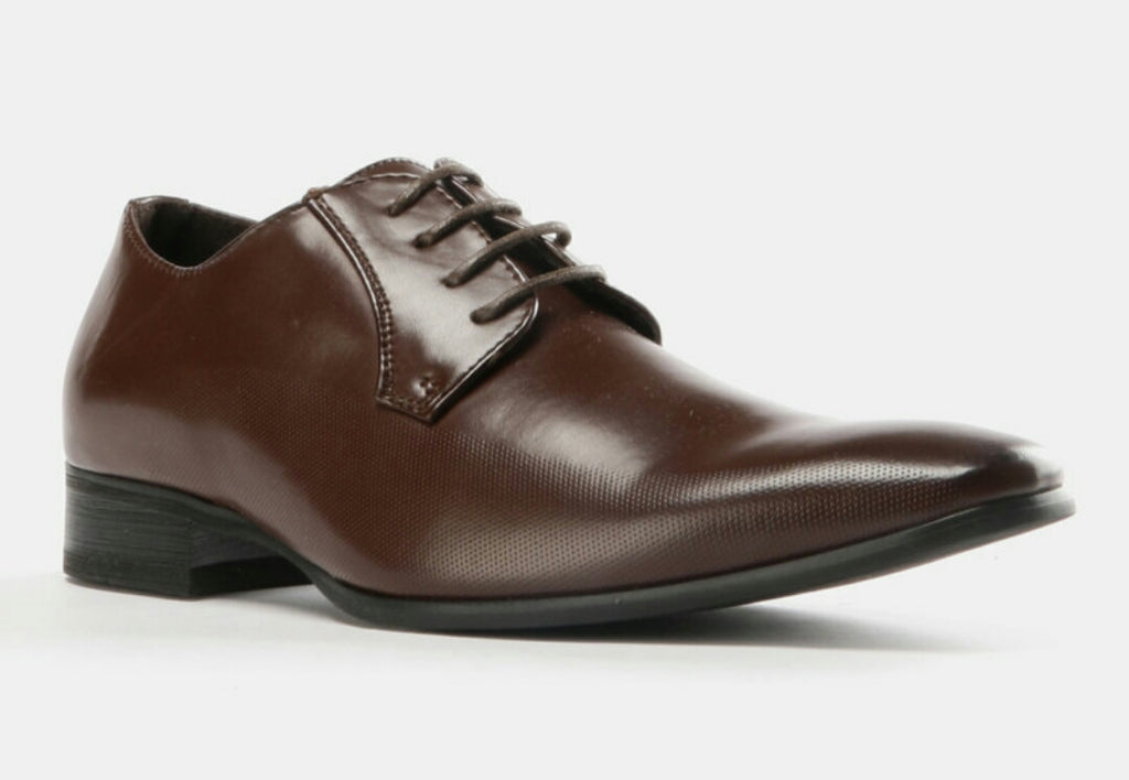 Formal Lace Up Shoes - Brown