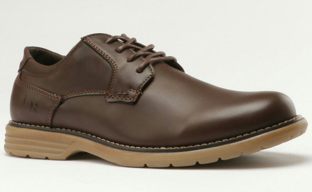 Luciano Rossi Derby Shoes - Brown