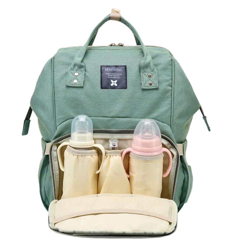 Baby Diaper Waterproof Travel Nappy Bag - Green