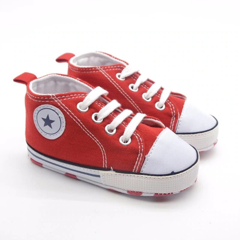 Infants Soft sole Sneakers - Red