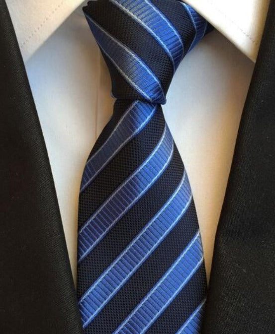 Men's Neck Ties - Blue NT209