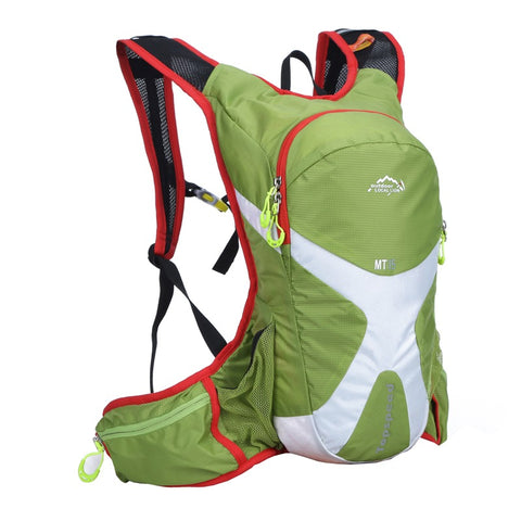 8L Backpack Hydration System Water Bag with FREE 1.5L Bladder - Green