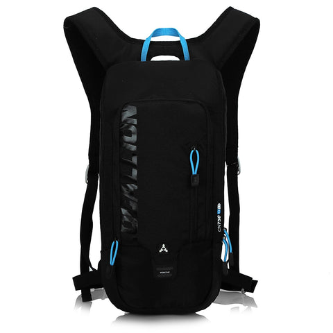 8L Slimlite Backpack Hydration System Water Bag with FREE 1.5L Bladder - Black