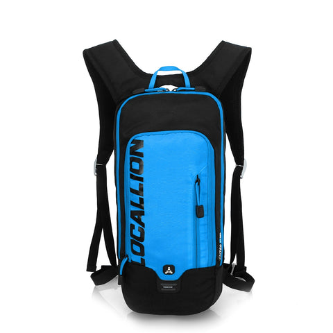8L Slimlite Backpack Hydration System Water Bag with FREE 1.5L Bladder - Blue/Black