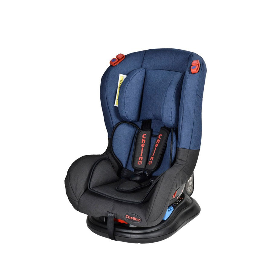 Veyron Delux Car Seat - Black / Navy