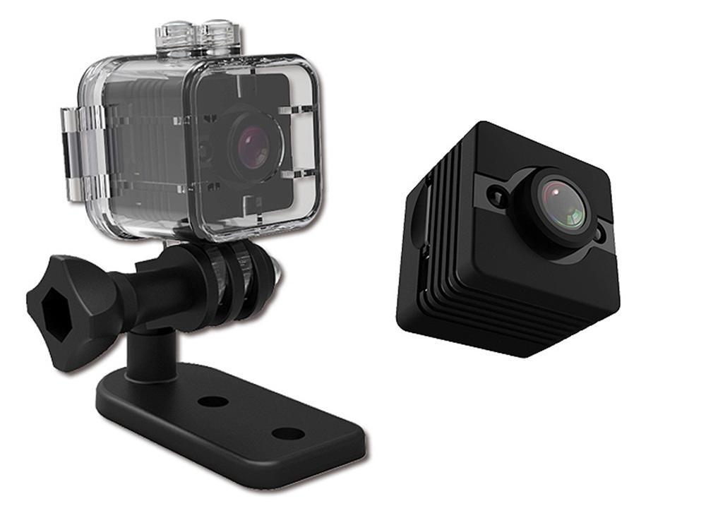 SQ12 HD 1080P Micro Camera with Infrared Night Vision and Motion Detection
