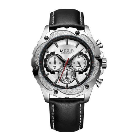 Men's Chronograph Watch - Silver