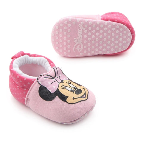 Infants Cartoon Slipper - Pink Minnie