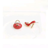 Bags and Heels Earrings - Red