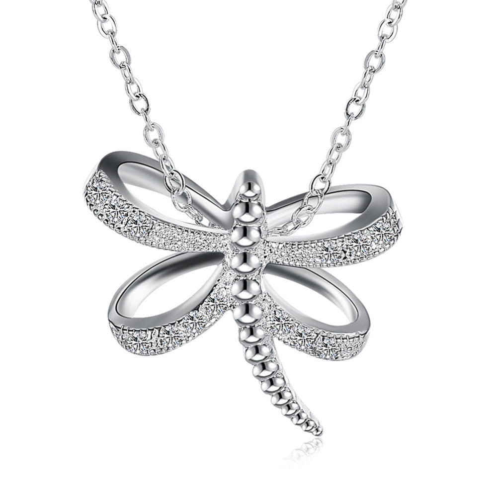 Dragon Fly Pendant Necklace