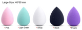 Foundation Sponge Blender Large Size: 40*60mm