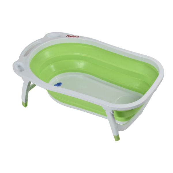 Chellino Foldable Bath For Easy Storage - green