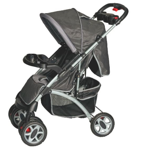 Baby Stroller Pram with Reversible Handle