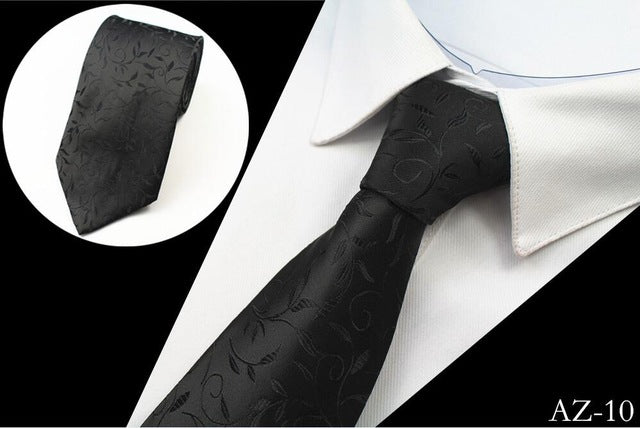 Men's Silk Ties - Black