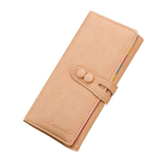 Ladies Casual Wallets - Peach