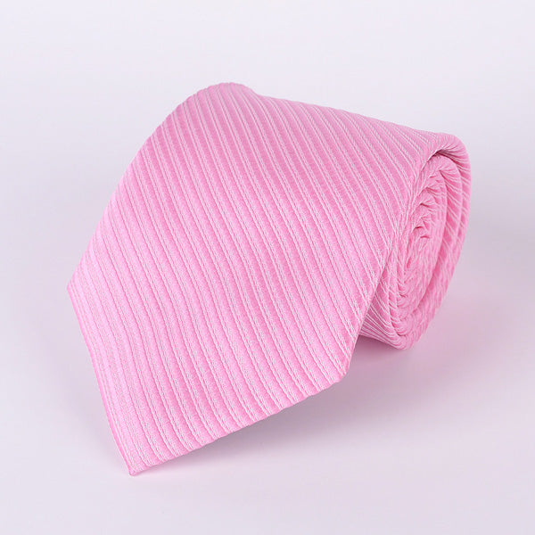 Men's Ties - Pink Stripe