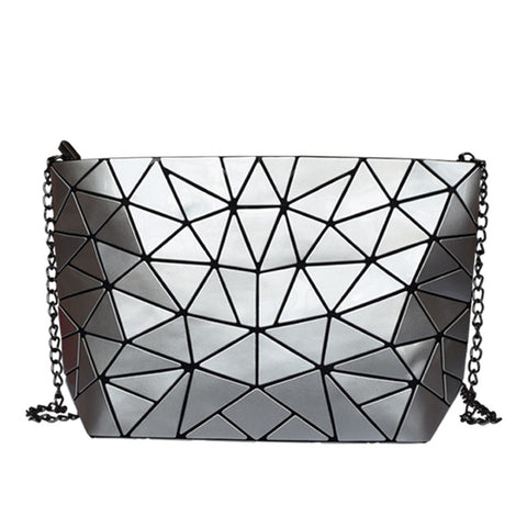 Ladies Retro Shoulder bag -Silver