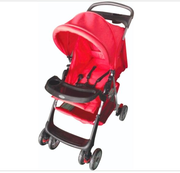 Foldable Stroller - Red