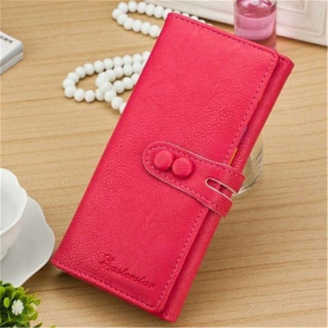 Ladies Casual Wallets - Rose