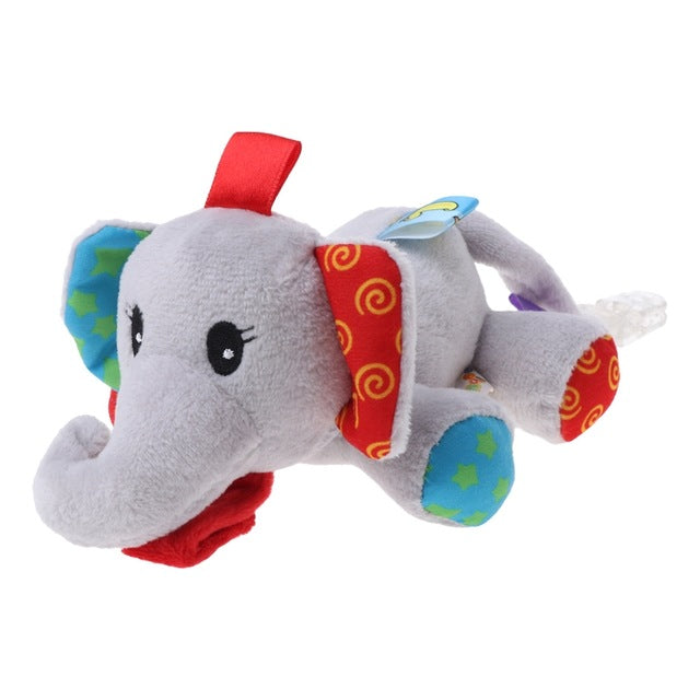 Baby Dummy Teddy - Elephant