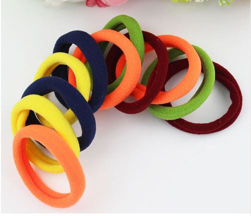Fluorescent Hair Elastics - 5 pack