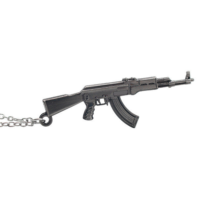 Men's AK47 Neck Chain - Black