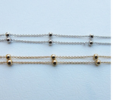 Summer Styled Beaded Anklet